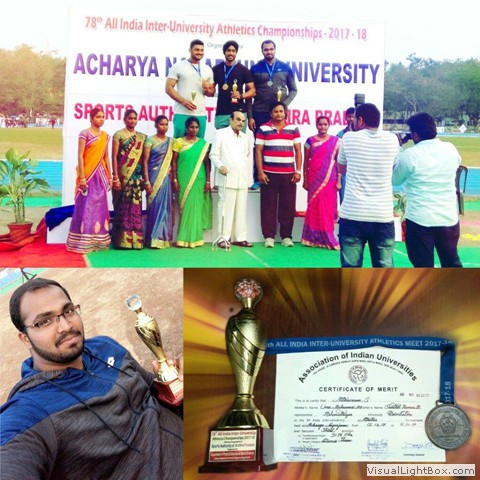 All India Inter University Bronze Medal